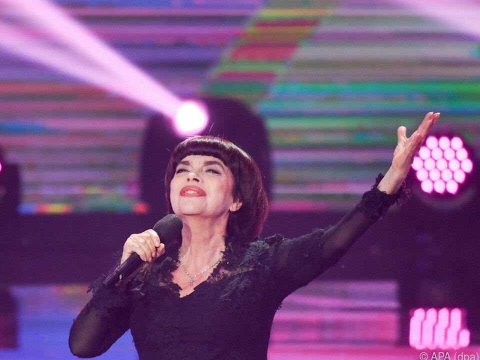 Am 1. Mai gastiert Mireille Mathieu im Wiener Konzerthaus