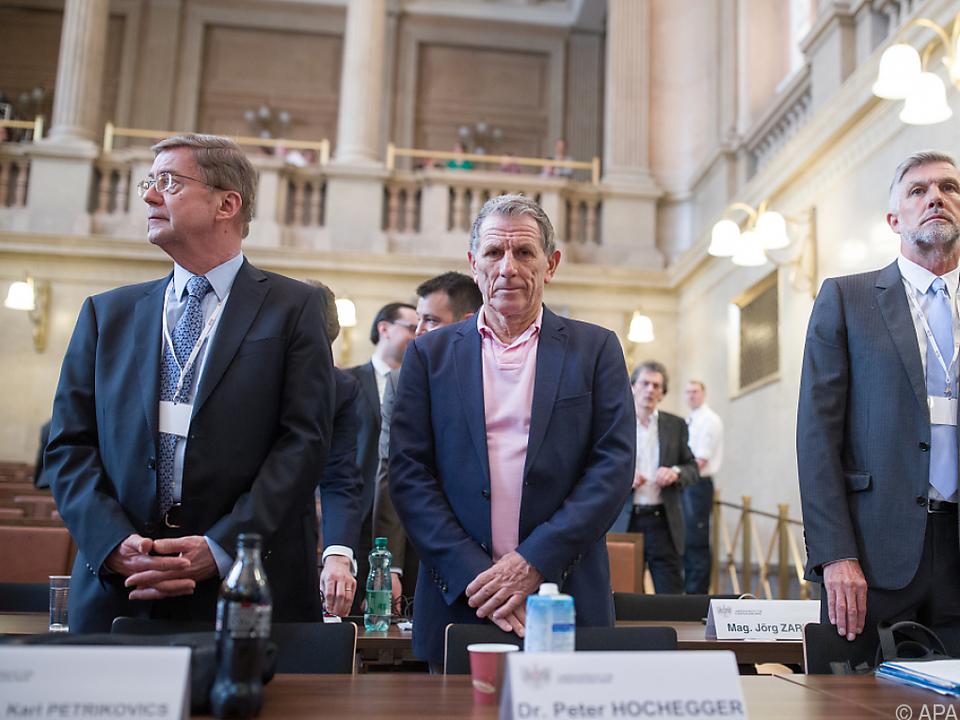 Am 31. Verhandlungstag stand Meischberger im Vordergrund