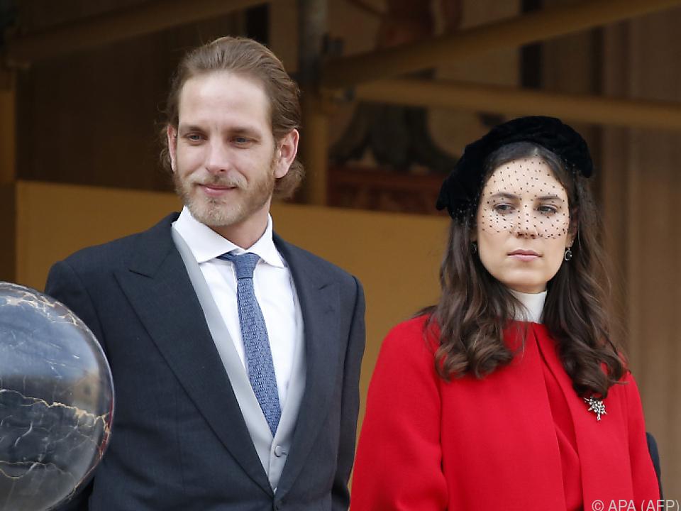 Andrea Casiraghi und seine Frau Tatiana haben nun drei Kinder