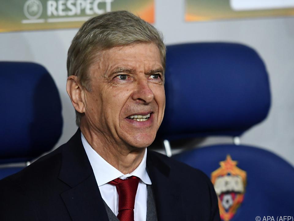 Arsene Wengers Feuer bei Arsenal erloschen