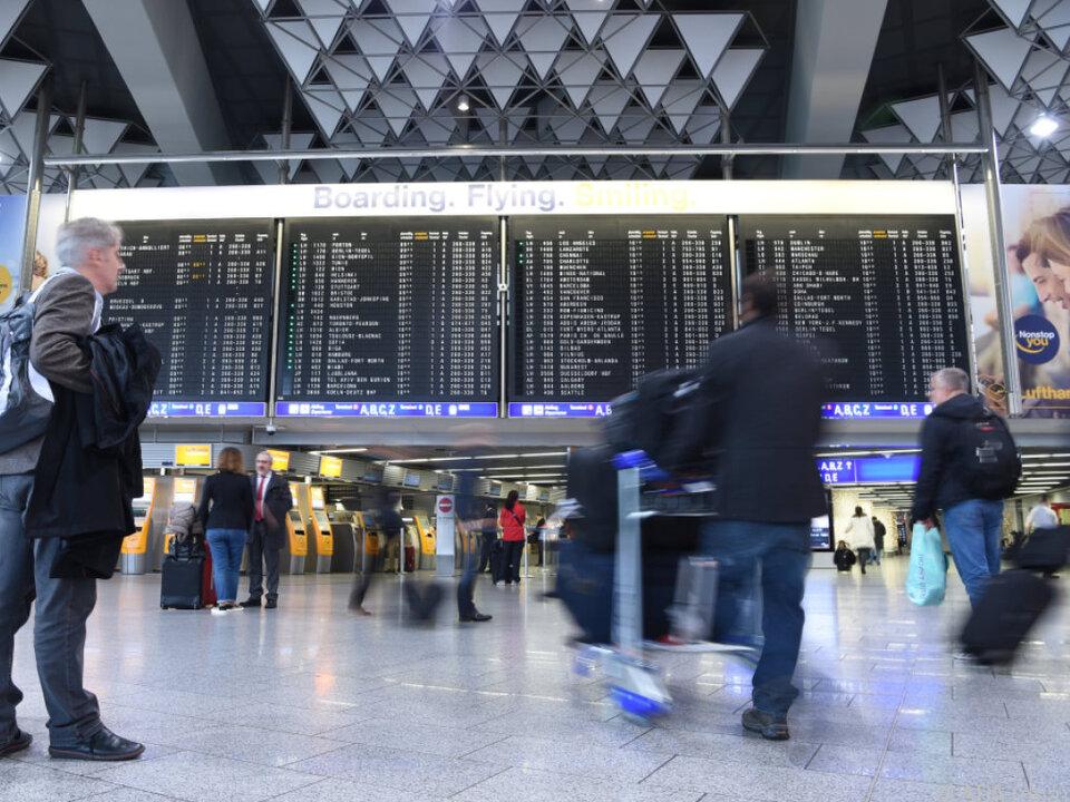 Auch am Flughafen Frankfurt wird gestreikt