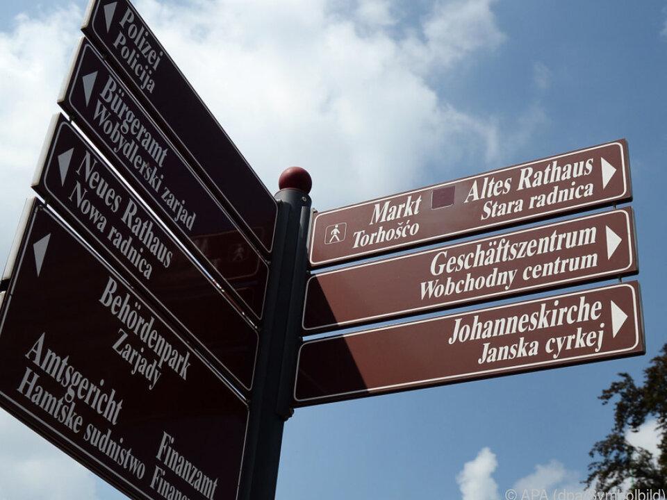 Auch Sorbisch gehört zur Vielfalt Europas