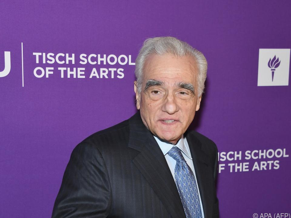 Auszeichnung für Martin Scorsese
