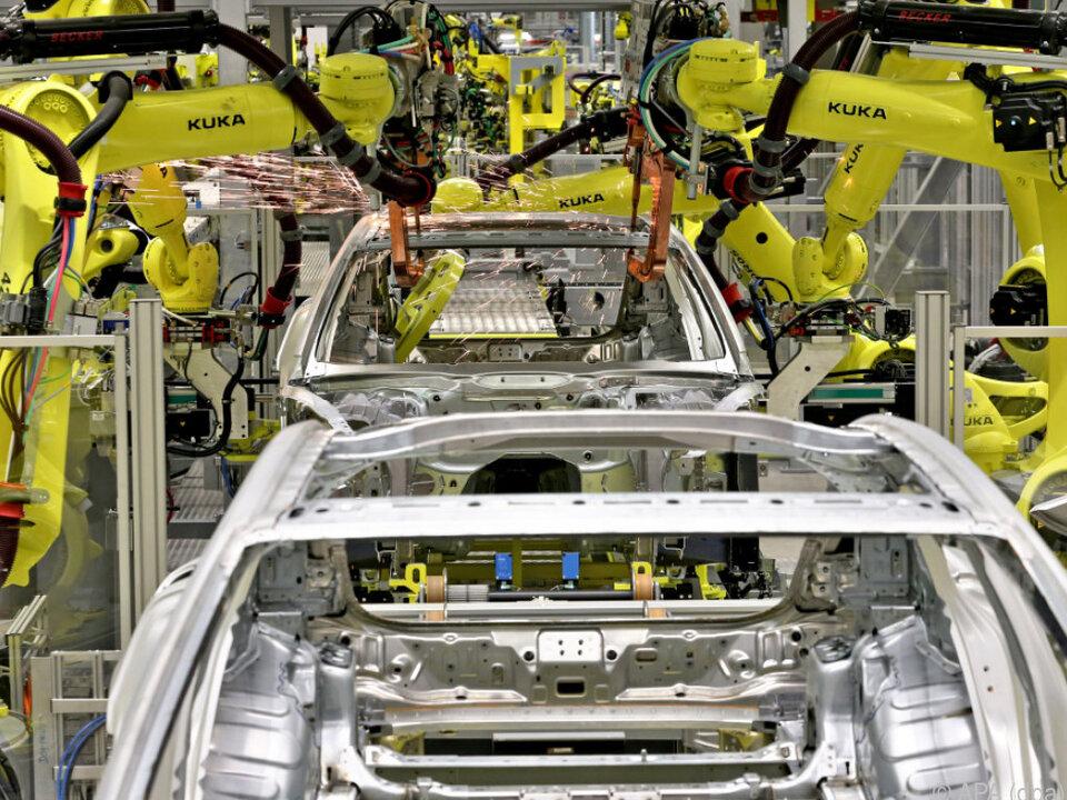 Auto-Produktion in Leipzig