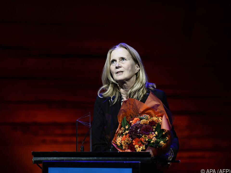 Autorin Katarina Frostenson kündigte Rücktritt an