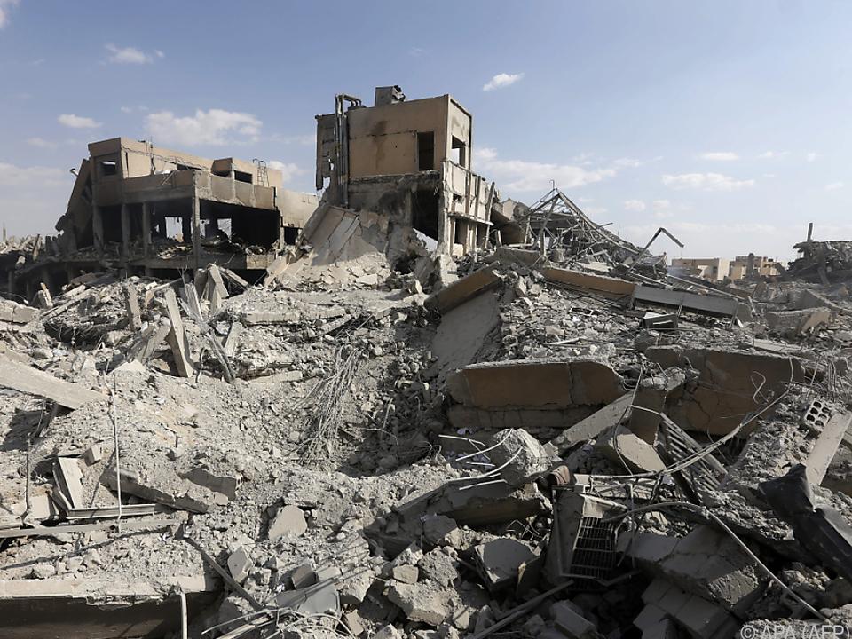 Bilder der Zerstörung aus Damaskus