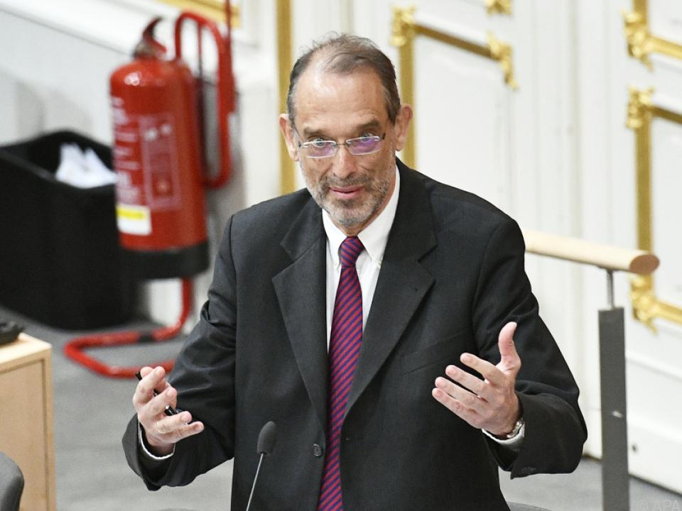 Bildungsminister Faßmann verteidigte seinen Budget