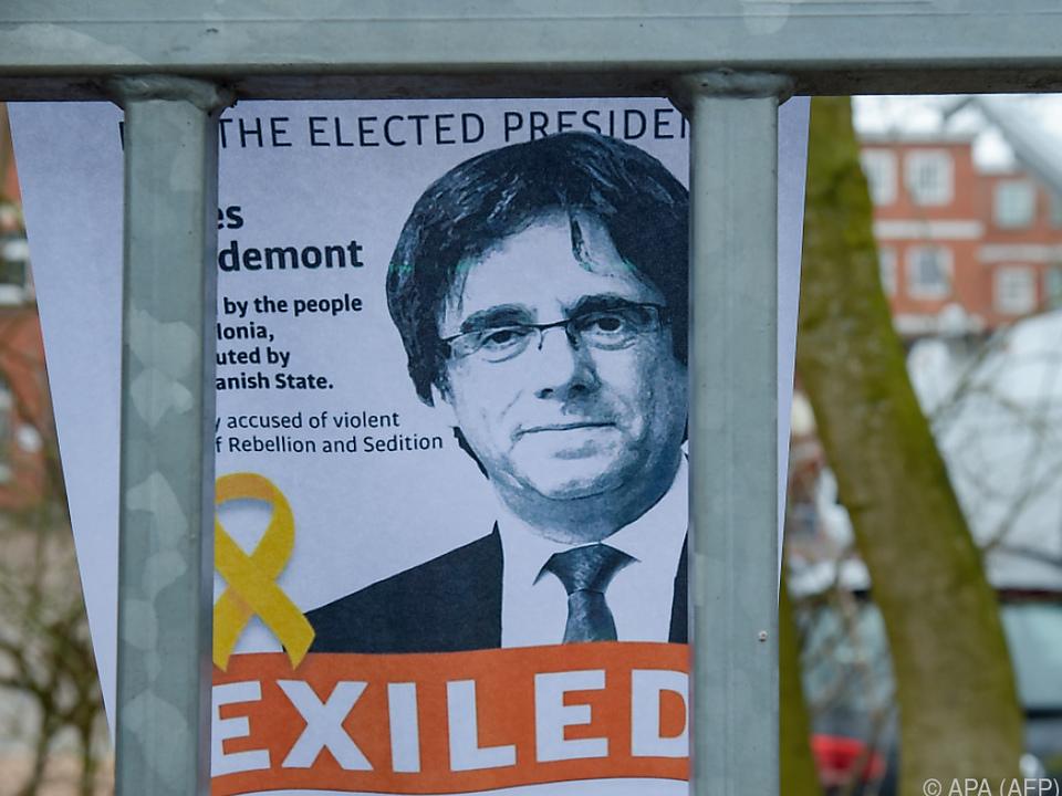 Carles Puigdemont sitzt derzeit in Neumünster in Haft
