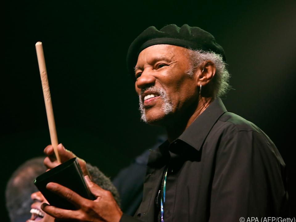 Charles Neville bei einem Auftritt im Jahr 2014 in New Orleans