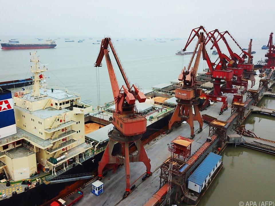 China verzeichnete Rückgänge bei Import und Export