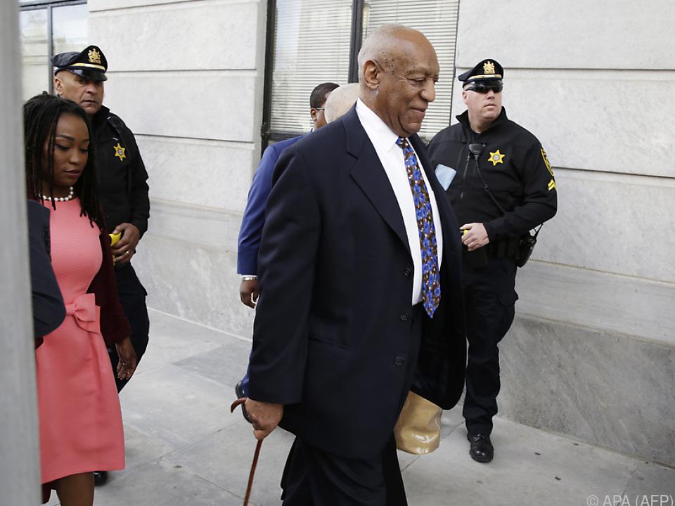 Cosby hat bis jetzt alle Vorwürfe zurückgewiesen