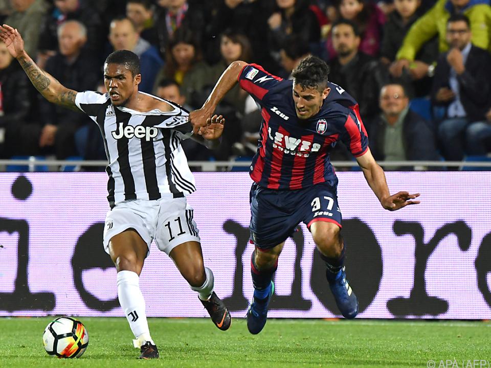 Crotone knöpfte Juventus einen Punkt ab