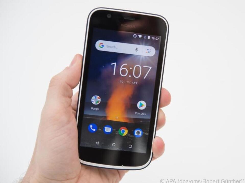 Das Nokia 1 ist eines der ersten verfügbaren Smartphones mit Android Go