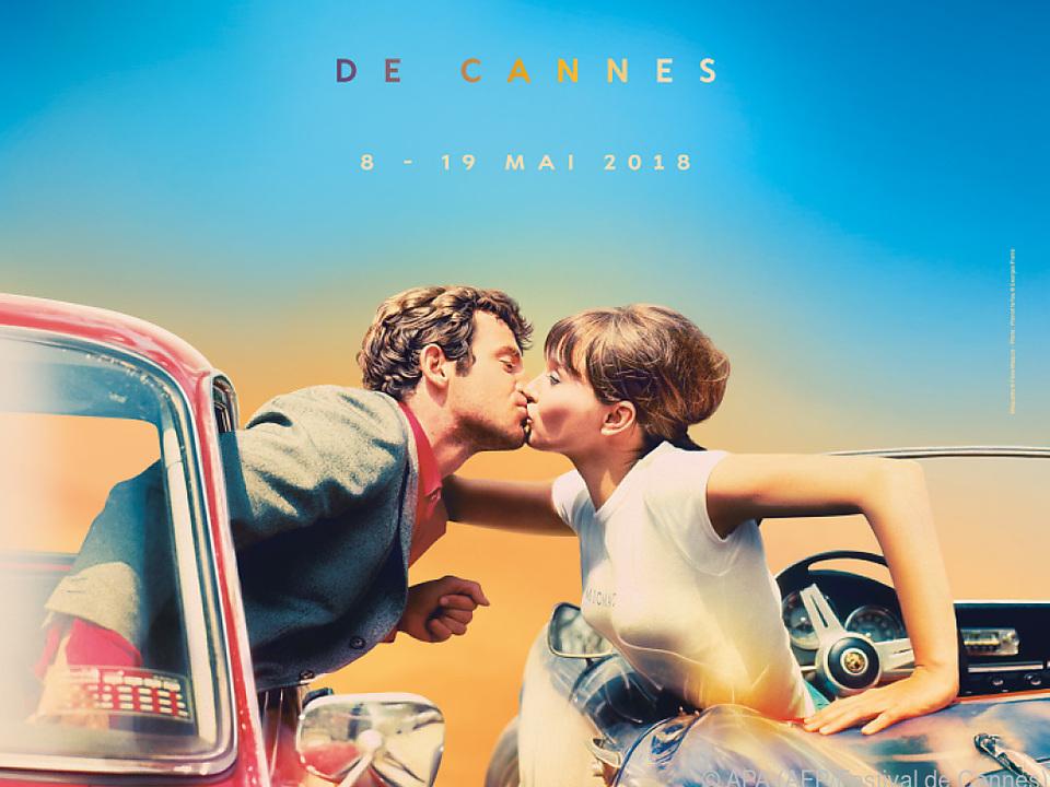Das Plakat des diesjährigen Filmfestivals in Cannes
