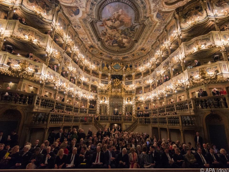 Das renovierte Opernhaus in Bayreuth