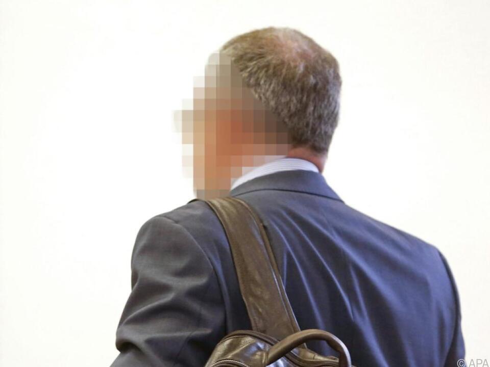 Der Angeklagte  am Landesgericht Klagenfurt