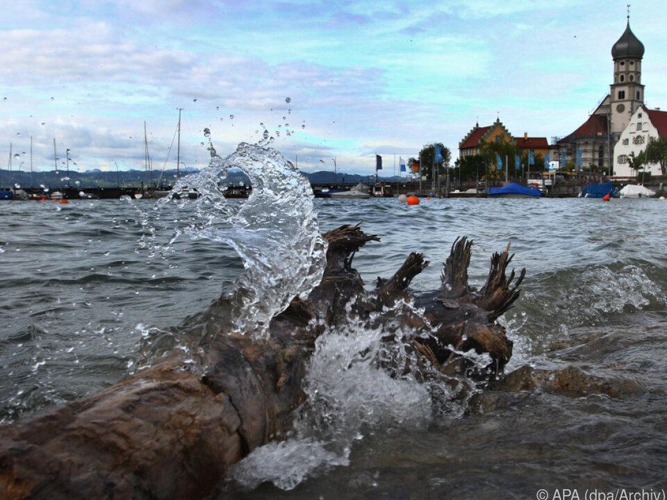 Der Bodensee bei Wasserburg hat ein Geheimnis weniger