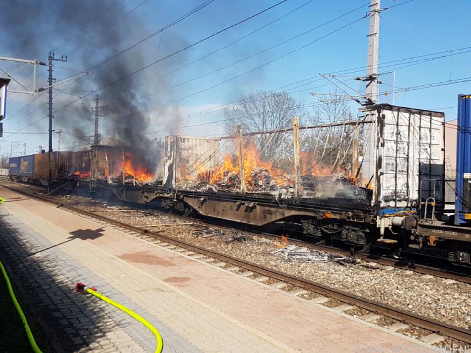 Der Brand ereignete sich am Samstag