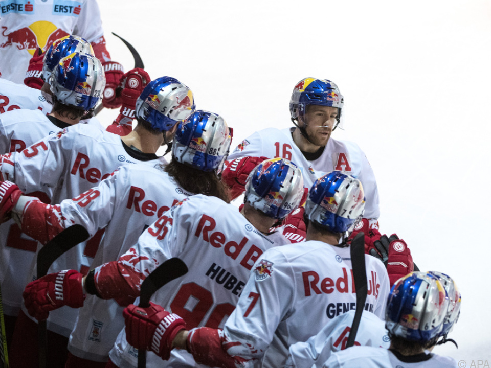 Der Eishockey-Meister will auch den EBEL-Titel