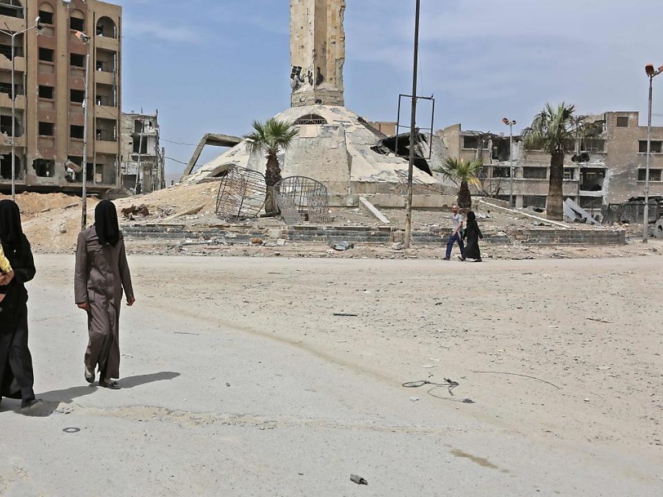 Der mutmaßliche Giftgasangriff fand in Douma bei Damaskus statt