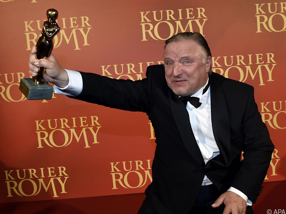 Der Romy-Preisträger von 2015 ist jetzt auch in Entenhausen unterwegs
