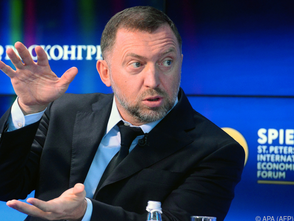 Der russische Milliardär Oled Deripaska