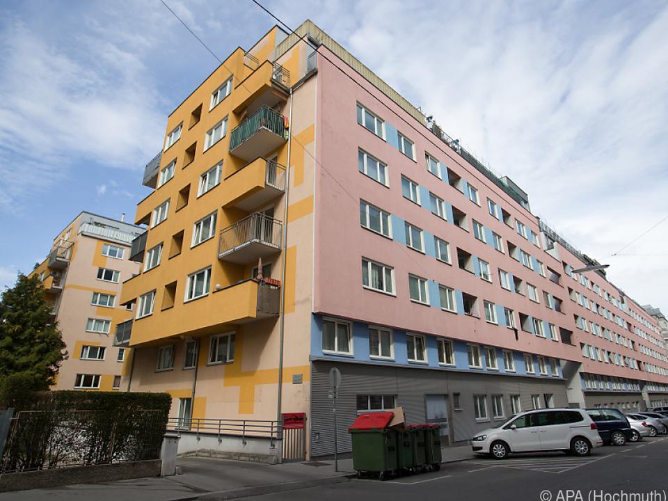 Der Tatort in Wien-Favoriten