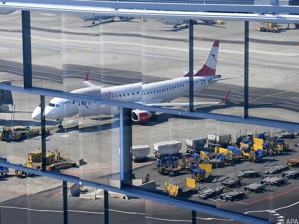 Deutliches Plus am Flughafen Wien
