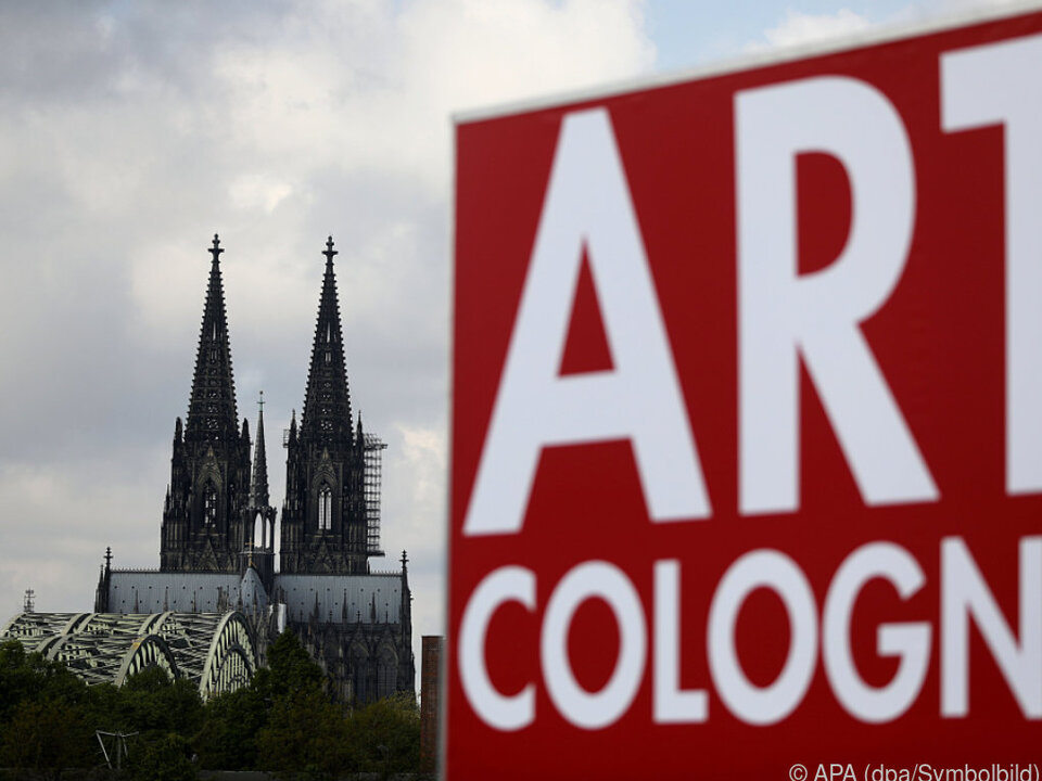Die Art Cologne ist in der Stadt