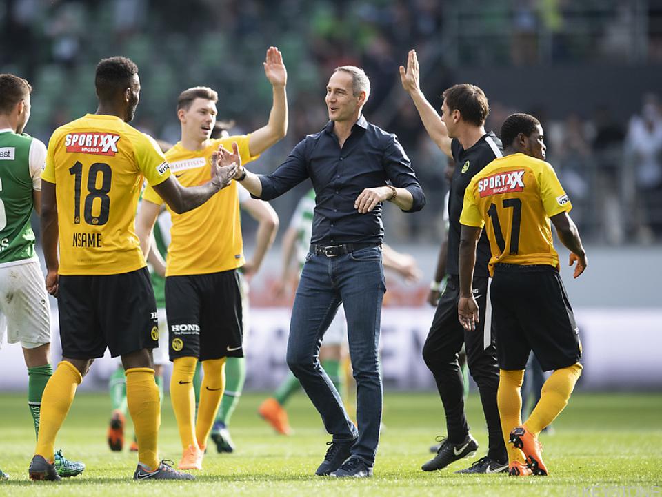 Die Berner liegen weiterhin 16 Punkte vor dem FC Basel