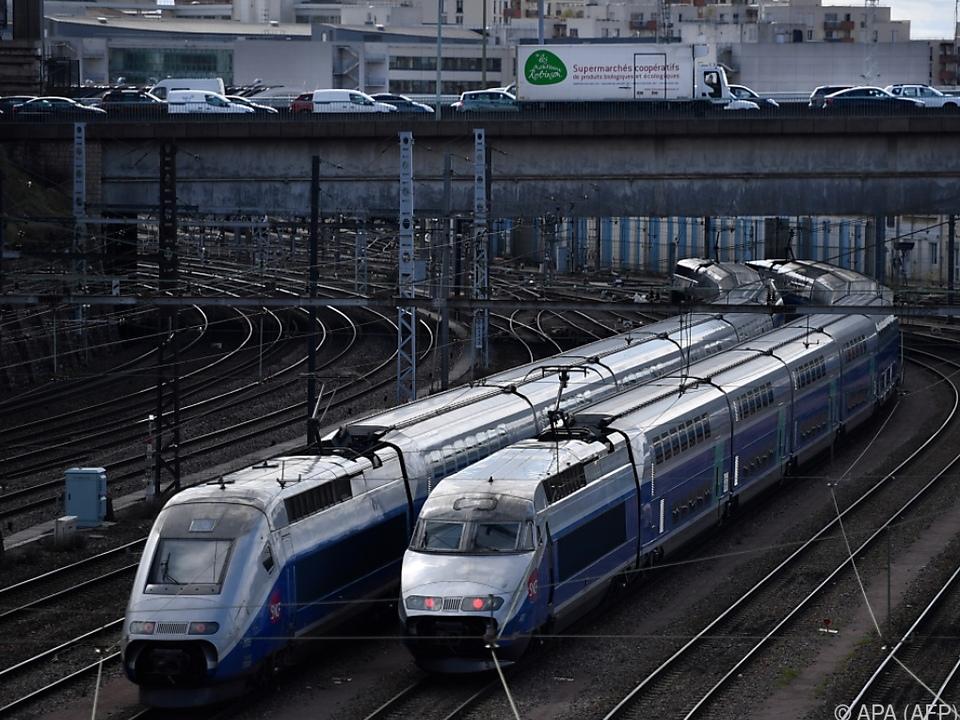 Die Hälfte der TGV-Hochgeschwindigkeitszüge dürfte ausfallen