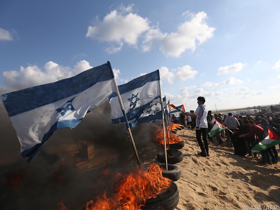 Die Lage in und rund um Israel spitzt sich wieder zu