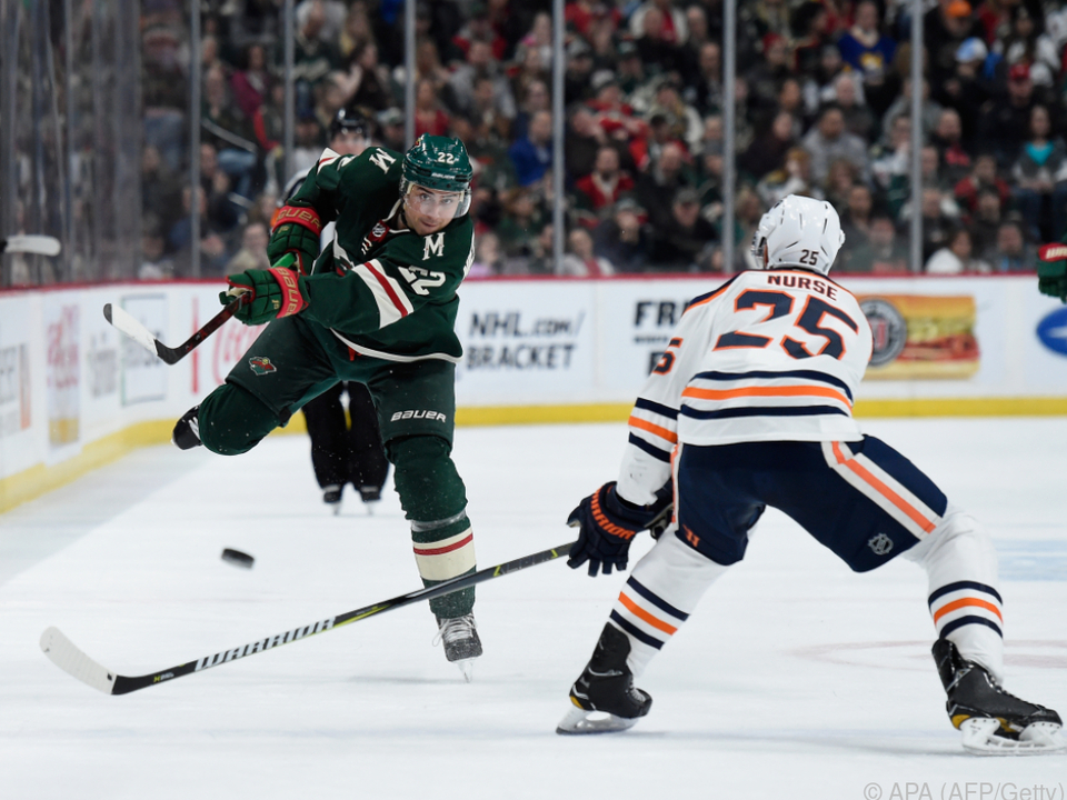Die Minnesota Wild bezwangen Edmonton