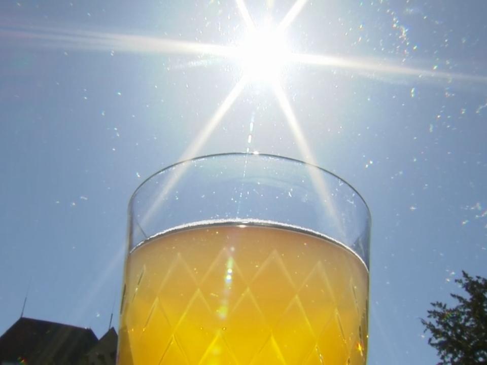 Die Sonne schafft den Durchbruch