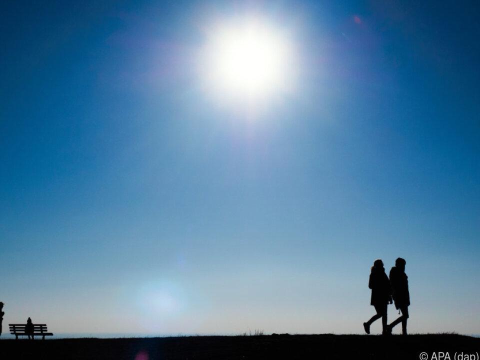 Die Sonne zeigt sich zu Beginn der Woche wieder häufiger