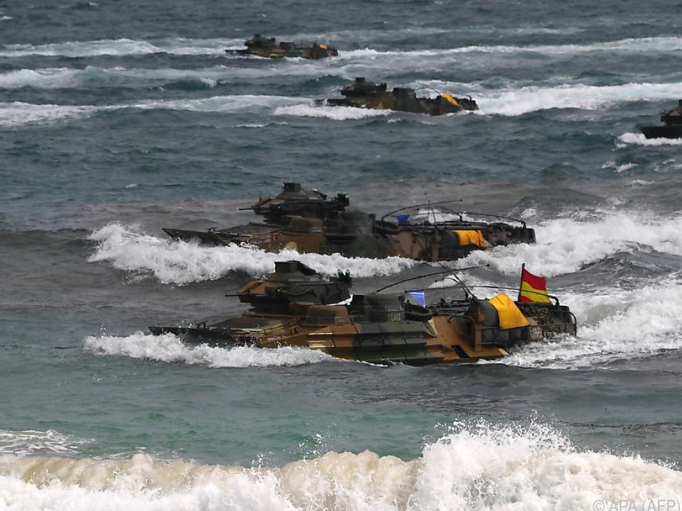Die USA übt immer wieder mit Südkorea
