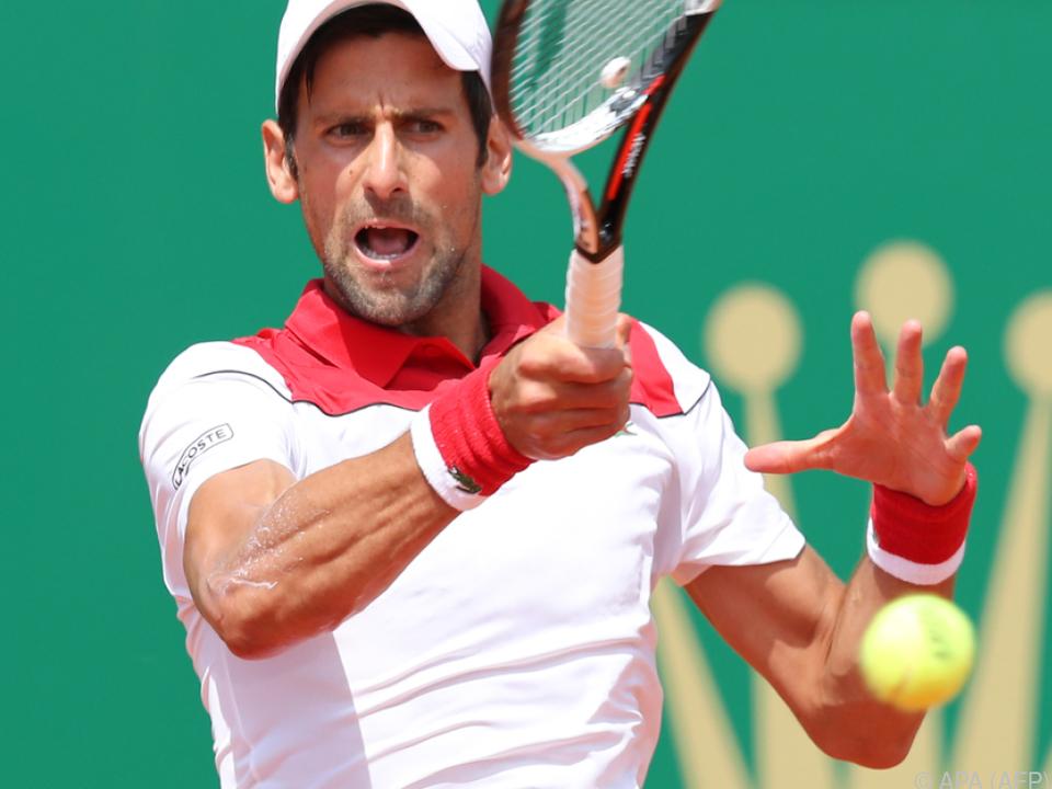 Djokovic hatte gegen Coric hart zu kämpfen
