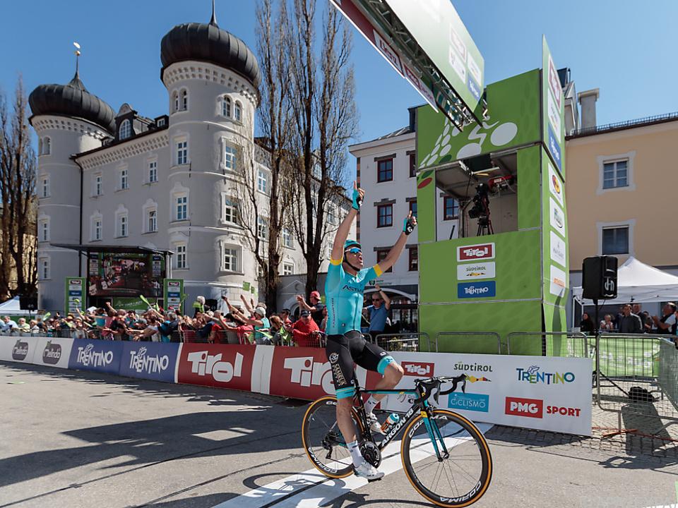 Dritter Tagessieg für das Astana-Team bei dieser Rundfahrt