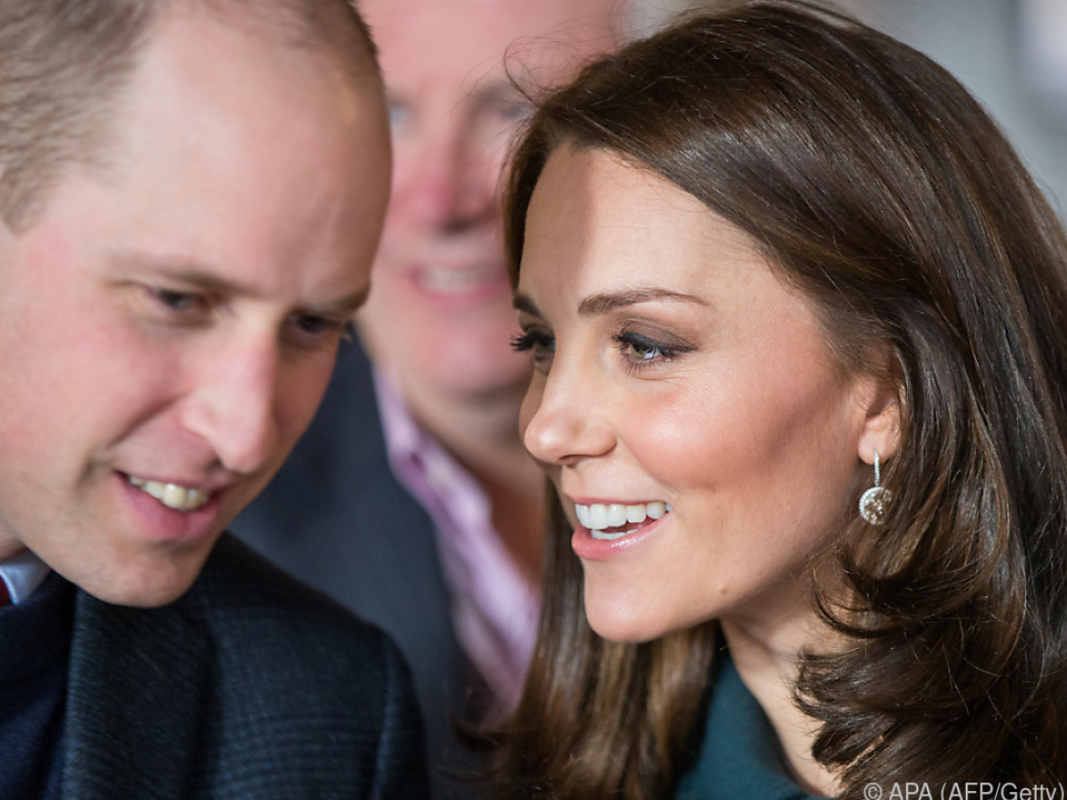 Drittes Kind für Kate und William