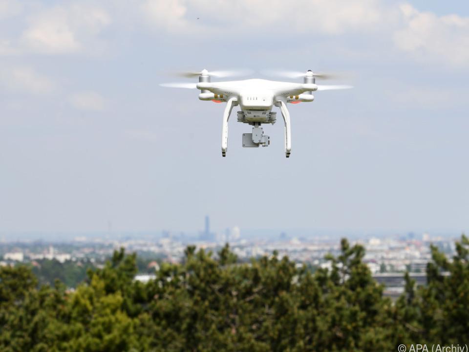 Drohnenflug führte zu Unannehmlichkeiten