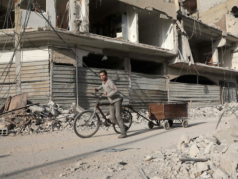Duma ist das letzte Rebellengebiet Ost-Ghoutas