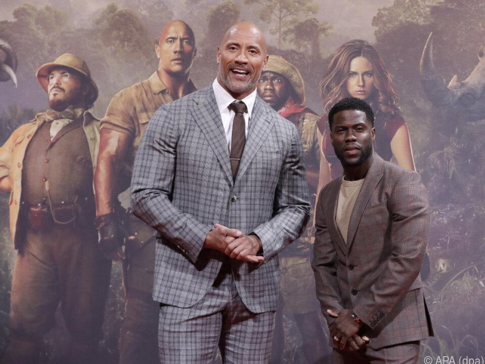 Dwayne Johnson und Kevin Hart spielen die Hauptrollen