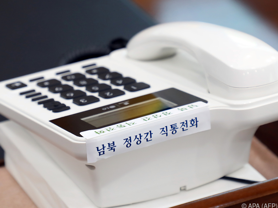 Eine Hotline zwischen den beiden Koreas wurde eingerichtet