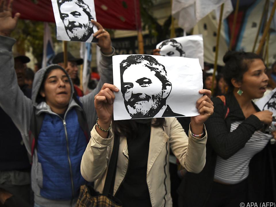 Ex-Präsident Lula ist in Brasilien weiter sehr beliebt