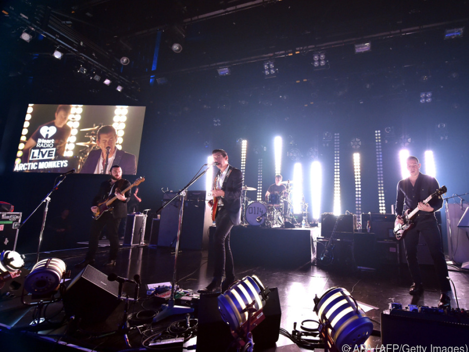 Fans freuen sich auf neues Material der Arctic Monkeys