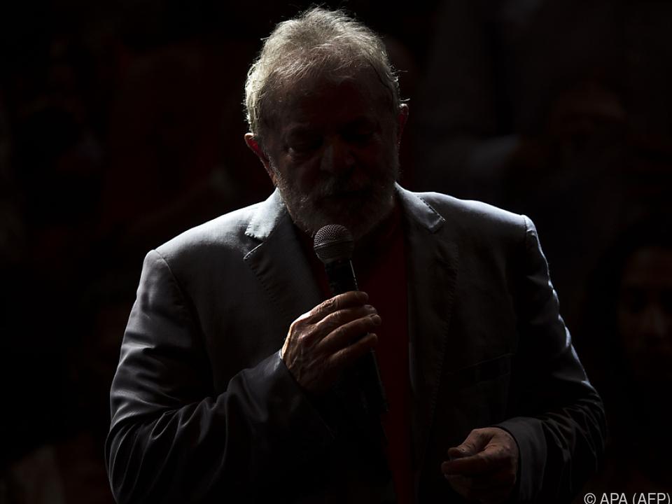 Finstere Zeiten für Luiz Inacio Lula da Silva