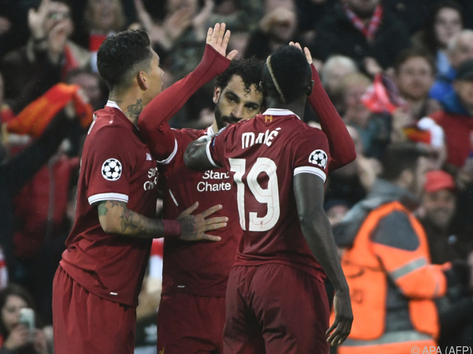 Firmino, Salah und Mane rockten die Anfield Road