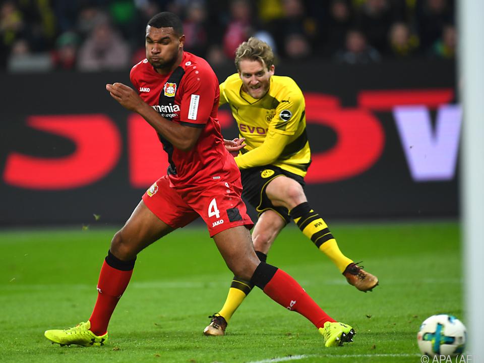 Formkurve spricht eher für Leverkusen