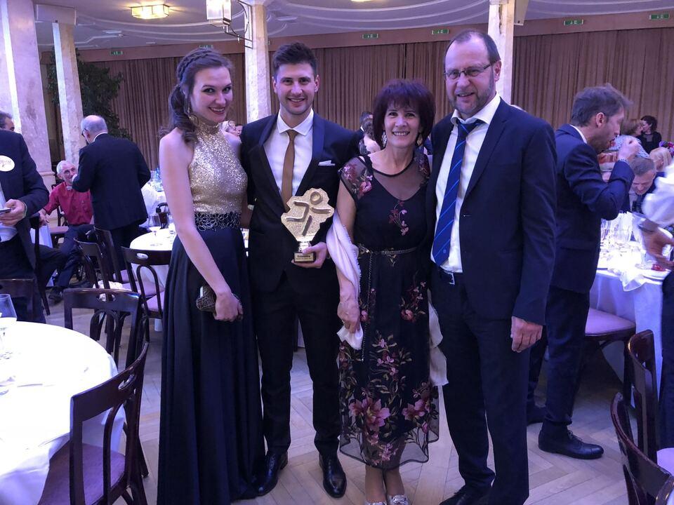 Sportler des Jahres 2018 Dominik Windisch Familie