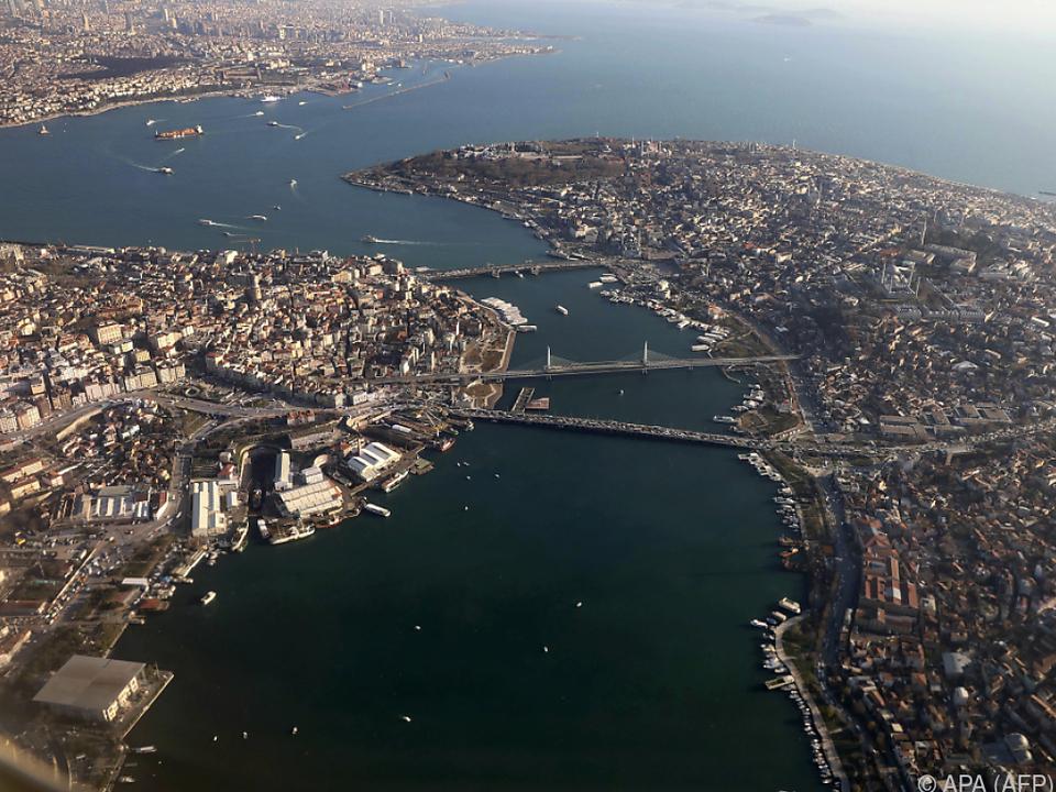 Goldenes Horn und Altstadt von Istanbul